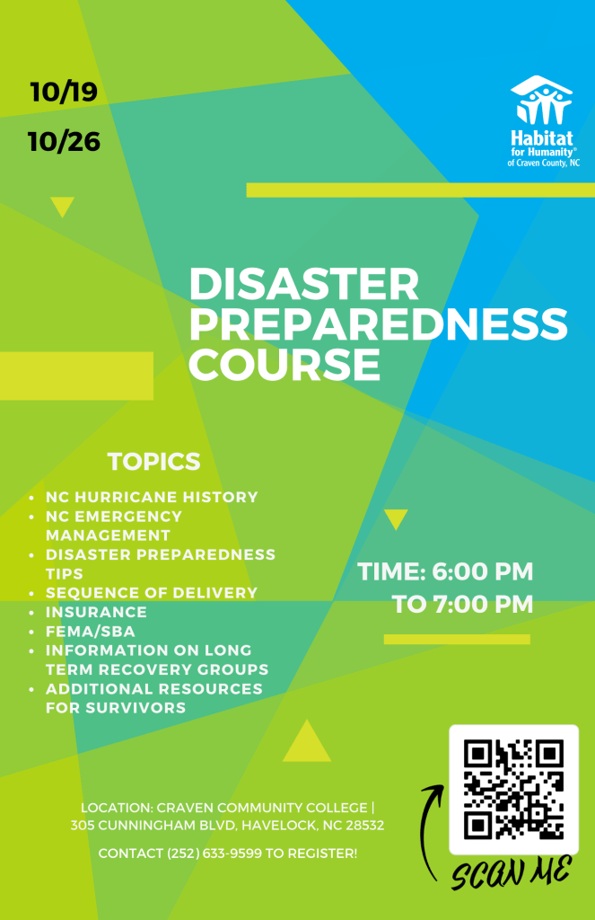Disaster Preparedness Flyer Oct (Updated)